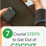 Steps to get out of credit card debt
