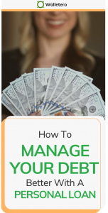 How to manage debt with a personal loan
