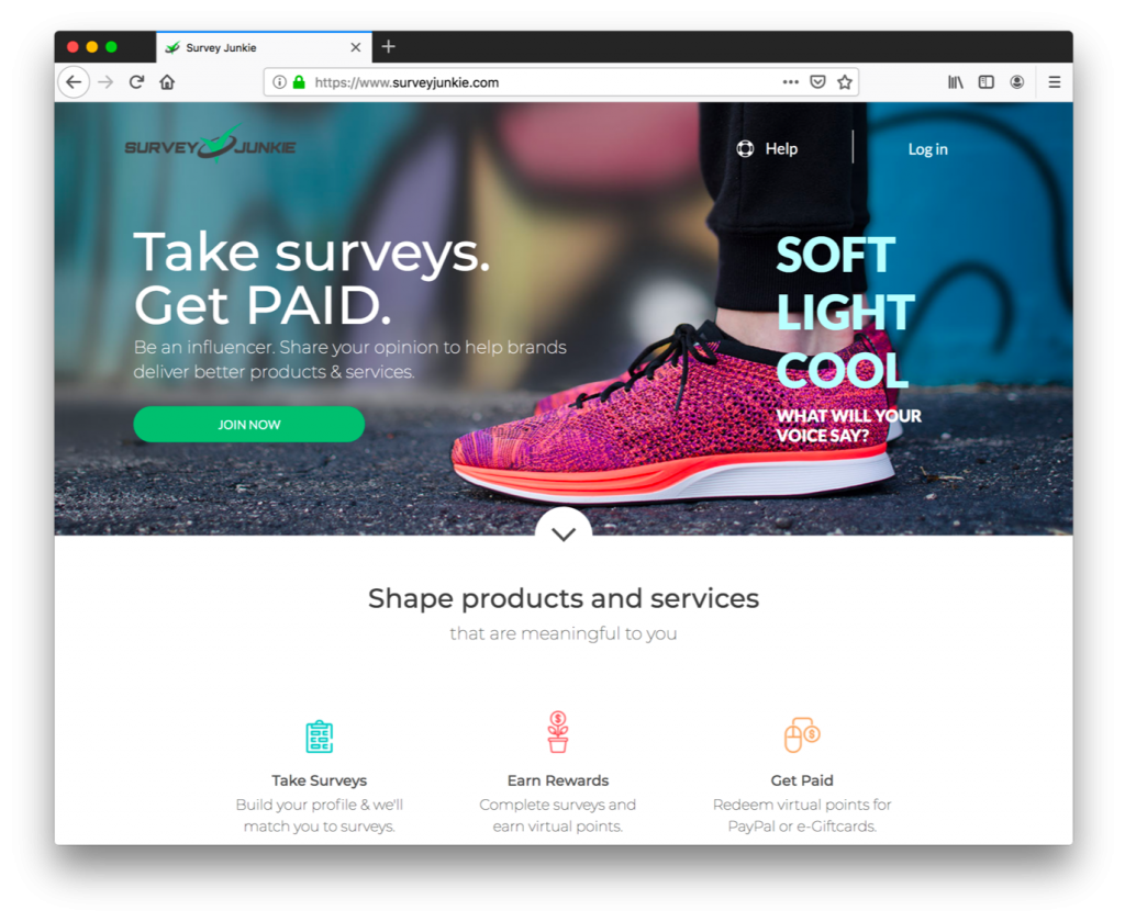 Survey Junkie is a top place to take online surveys and make extra cash