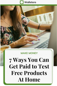Get paid to test products at home