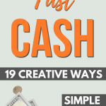 Creative ways to make money fast