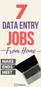 Data entry jobs from home to earn money