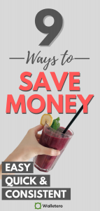 Easy ways to save money consistently