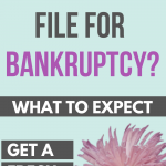 Should you file bankruptcy and what to expect