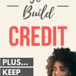 Build credit with a secured credit card