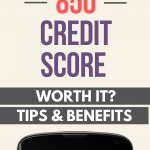 This is how I got a credit score of 850