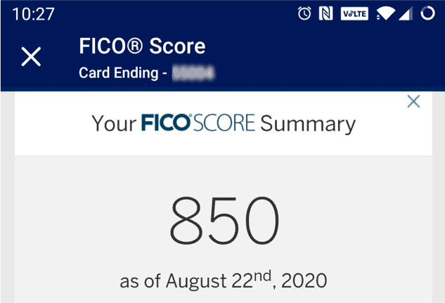 This Is How I Got An 850 Credit Score Tips And Benefits